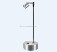 Battery operated restaurant decorative led mini table lamp