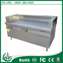 CH-12PL2 freestanding plancha grill and industrial electric grill