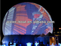hot sale design inflatable air dome projection tent for party
