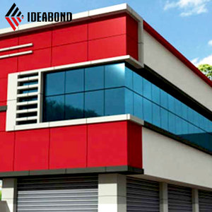 IDEABOND high quality PVDF coating aluminum composite wall panels for exterior wall cladding