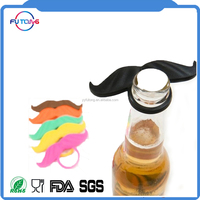 New FDA LFGB Silicone Colorful Mustaches