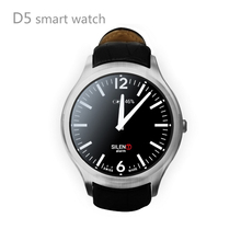 "Android 4.4 1.3"" IPS Touch Screen 3G WiFi GPS D5 Smart Watch Phones"