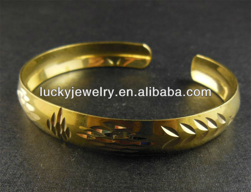 new model bangle gold plated