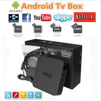 china manufacturer supply matricom g box midnight MXQ xbmc tv duad core Android 4.4 tv box tv box with root access