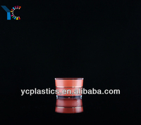 Luxury Cosmetics Container,Pyramid Round Acrylic Jars