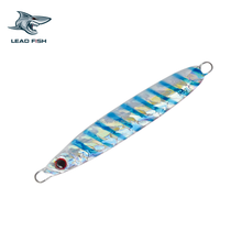 LF19B Leadfish Fishing Lures110g/160g/200g/280g/Artificial Fishing Lures Pike Vertical Speed Metal jig lure