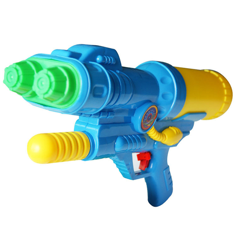 Plastic Toys Big Toy Water Gun Pistol Inflatable Pressure Gun Outdoor Sports Fun Summer Beach Shooting Squirt Nerf Water Bullet
