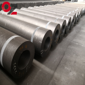 China manufacturer RP graphite electrode with nipple for arc furnace