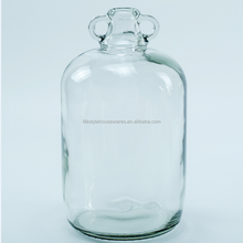 5L Giant Glass Carboy with handle Double Ears Juice Bottles ShanDong