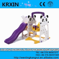 baby toy swings with slide and basket