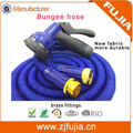 25/50/75/100/150FT expandable water garden hose flexible bungee hose with metal gun