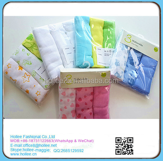 Baby swaddle wrap muslin cloth nappies 100% cotton