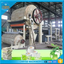 1092mm Recycled Paper As Raw Material Tissue Paper Toilet Paper Tissue Making Machine