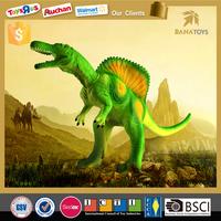 2016 Big discount green kids toys large plastic walking dinosaurs party walking dinosaur