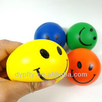 PU foam stress smiley face ball toys