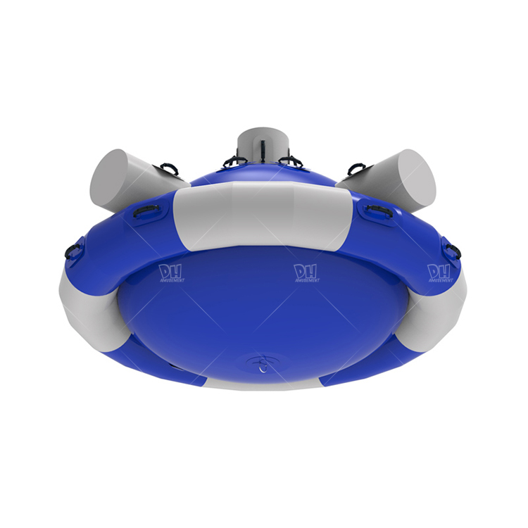 Water sports game 4 seats China inflatable float toy cheap price