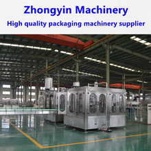 High quality german standard automatic liquid packing line