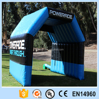 Inflatable outdoor arch tent for advertising