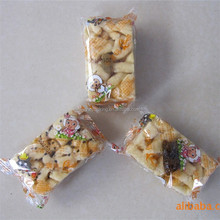 plastic Sachima packaging bags side by side manufacturer bag plastic