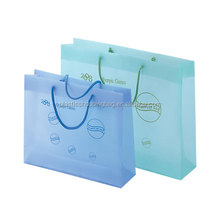 Convenience Store Custom Printed Plastic Shopping Clear Packaging Bag