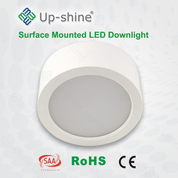 China manufacturer supplier European indoor use PF>0.9 modern 5000K led downlight surface mounted