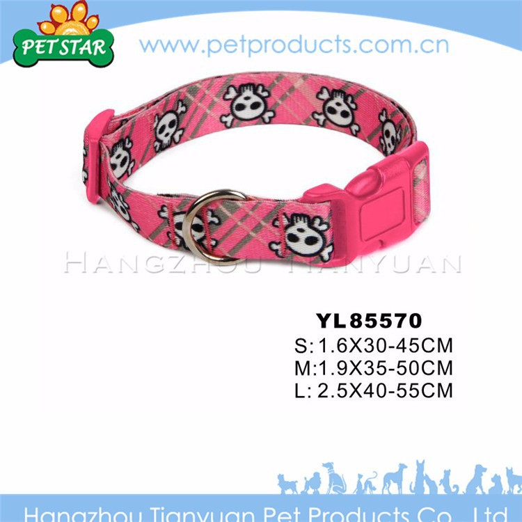 Firm cheap high quality cute hemp dog collar