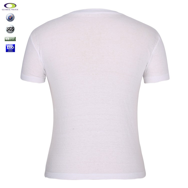 Wholesale bulk plain white 95 cotton 5 spandex t shirts for Cotton and elastane t shirts