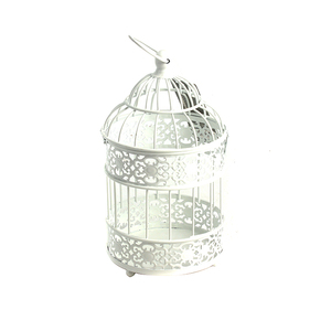 Candlesticks Decorative Hollow Holder Tealight Hanging Lantern Bird Cage Home Decoration