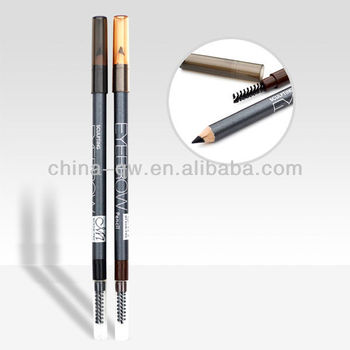 Menow P13009 cosmetic waterproof eyebrow pencil with brush