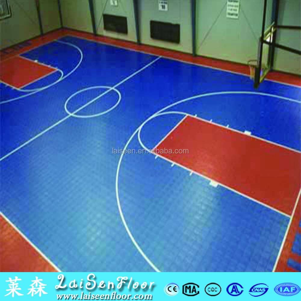 Gold quality outdoor Basket ball floor