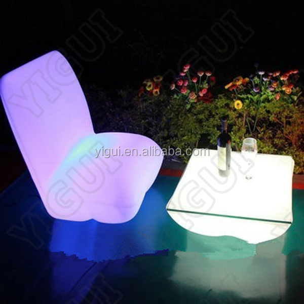 Color Change Night Club sofa, Party LED sofa,waterproof led sofa chair lighting