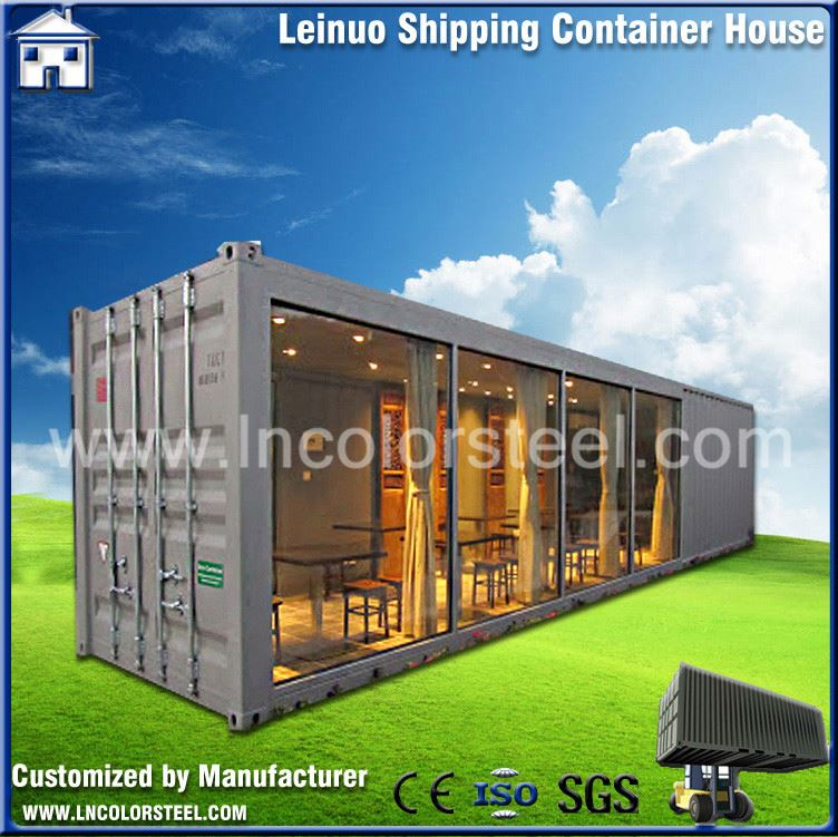 cheap High quality modular portable container house 40ft