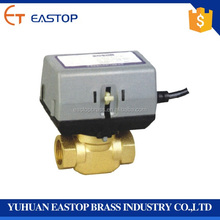 Water Contral Electric Motorized Actuator Brass Ball Valve