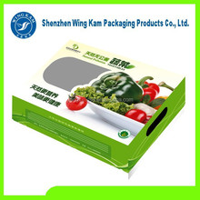 Paper Green Vegetable Boxes Packaging