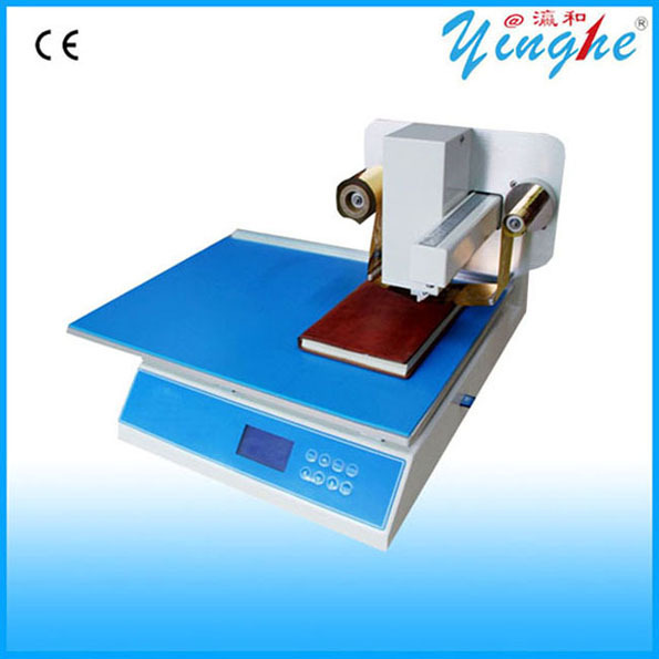 No need making plate hot stamping machine for small business