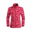 2018 Custom Camouflage Polyester Polar Fleece Jacket Women Varsity Jacket