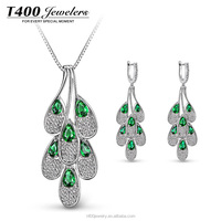 T400 S925 sterling silver jewellery made with Swarovski element S034