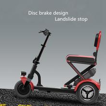 Multifunctional scooter for disabled