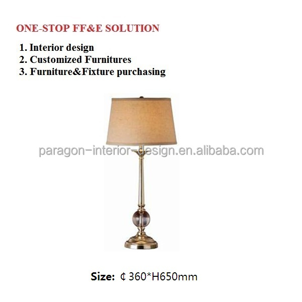 Modern style table lamp and high quality LED table lamp for Home Decoration