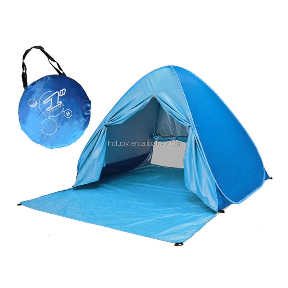 2017 easy carrying automatic Tent 50 + UV Protection Camping Hiking Beach Fishing Tends waterproof for outdoor using