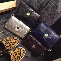 E1457 ladies fancy items small lovely trendy girls clutch bags with chain