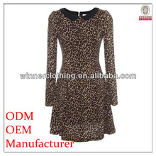 Chinese clothing manufacturers direct top fashion womens slim dress