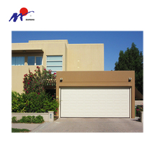 China most popular garage sectional door with plain window