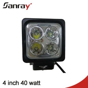New auto part 40w heavy duty led work light 9-60v off road led driving lighting