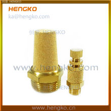 sintered bronze air pneumatic muffler