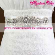 2017 Wedding Belt New Arrival Beaded Bridal Sash Belt Gorgeous Crystal Bridal Belts Fashion Wedding Accessories