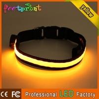 remote control led flashing dog shock collar