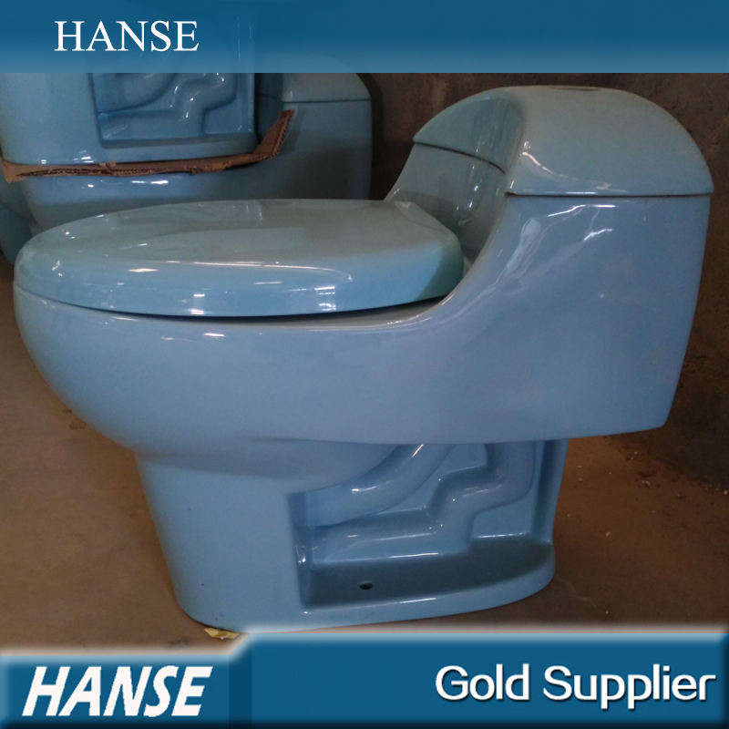 HS-729 ceramic toilet sanitary ware,one-piece toilet bowl