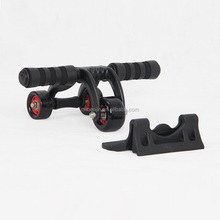 ab wheel 3 Triangular Small Roller Exercise Silence Ab Wheel