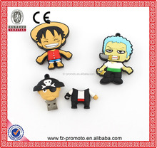 2016 new for One Piece Cartoon Character pen drive usb flash drive 4gb 16gb 32gb 8gb pendrive memory card pendrives